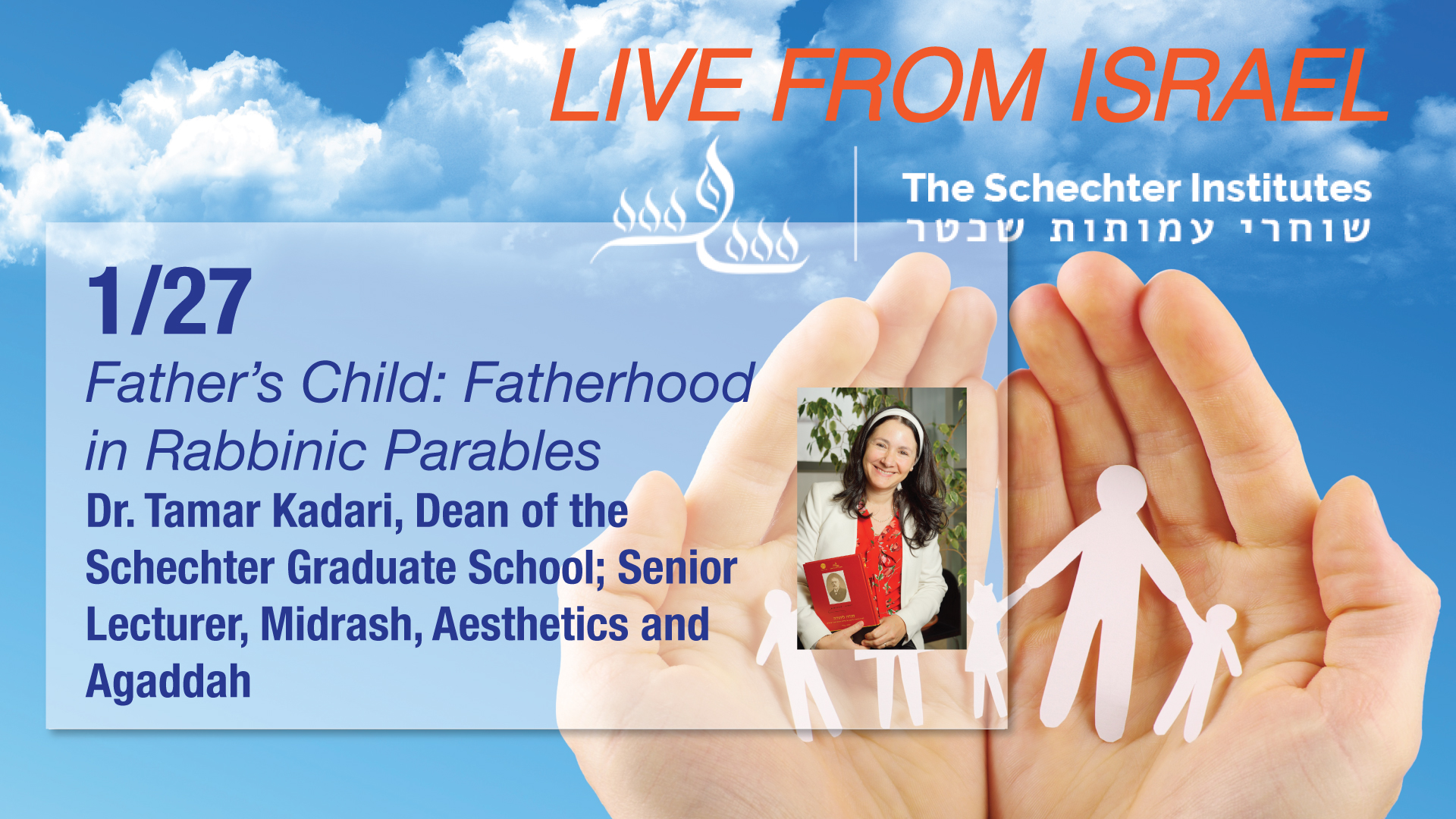 Schechter Lecture Series (3 of 4)