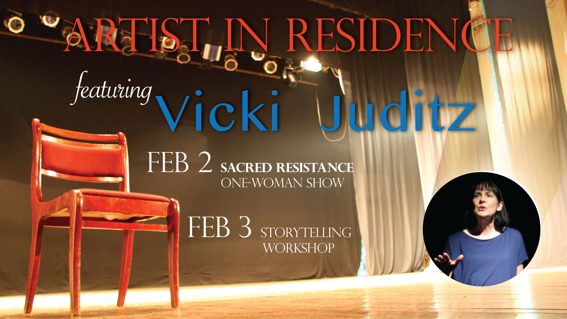 Artist in Residence: Vicki Juditz