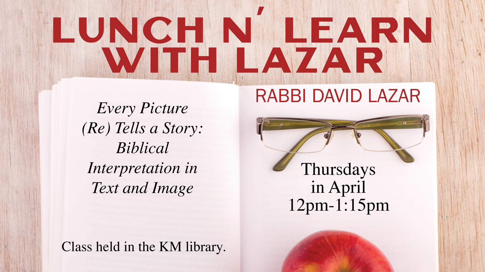 Lunch n' Learn with Lazar