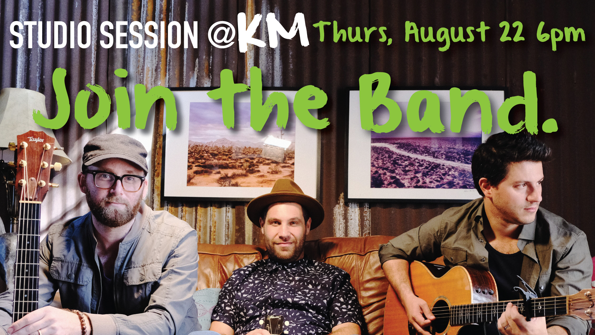 Studio Session @KM – Join the Band
