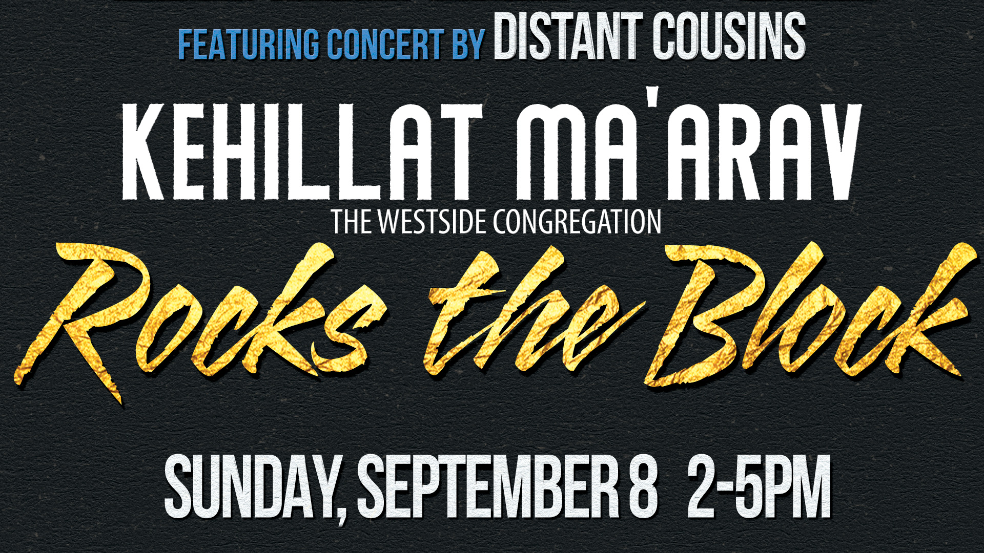 KM Rocks the Block