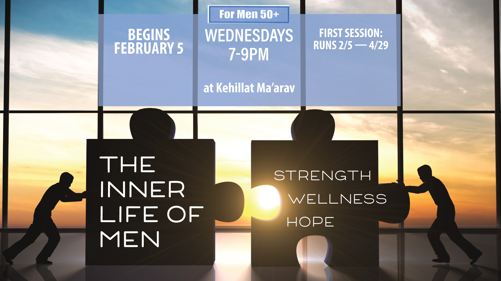 The Inner Life of Men : Wellness Group